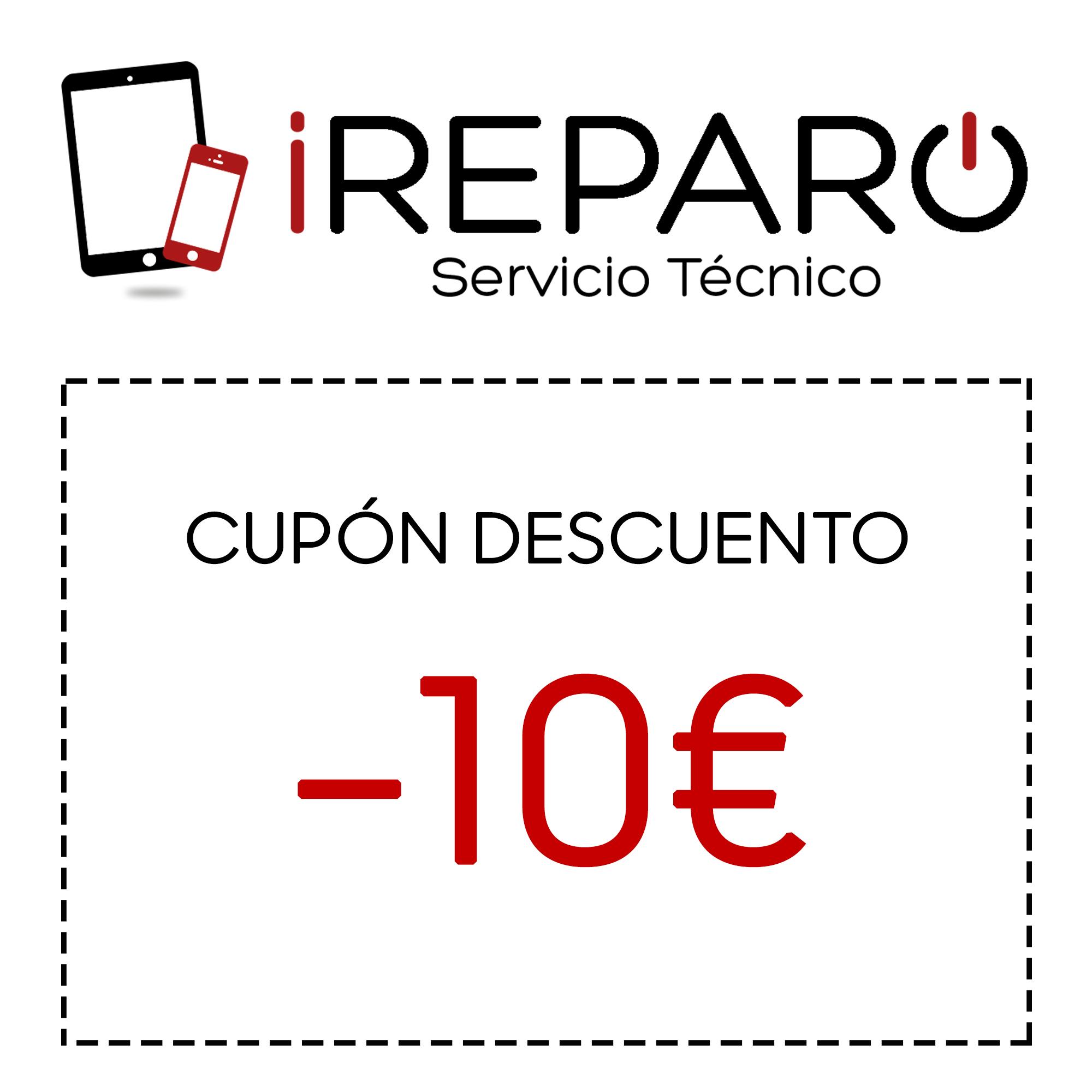 Cupón 10€ en iReparo